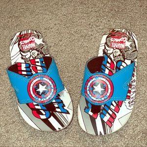 Toddler Stride Rite Captain America Sandals